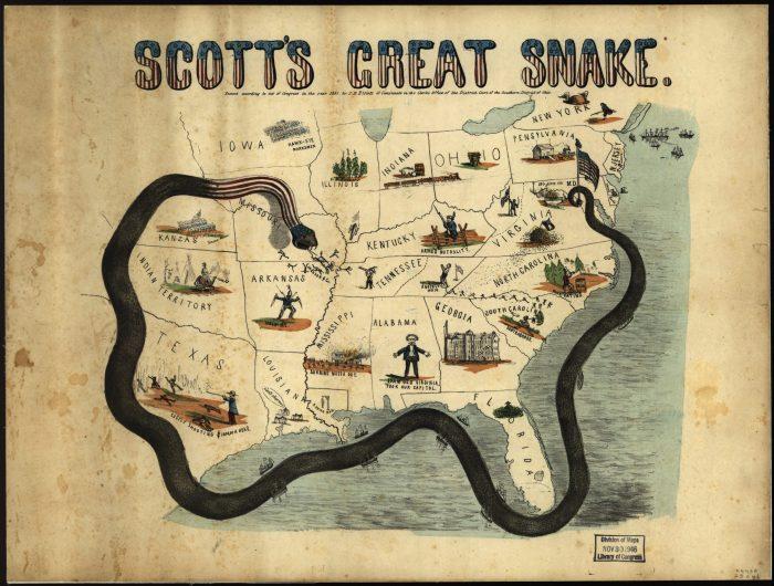 Winfield Scott's Anaconda Plan