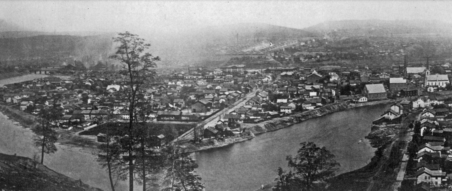 Downtown Johnstown Pre-Flood