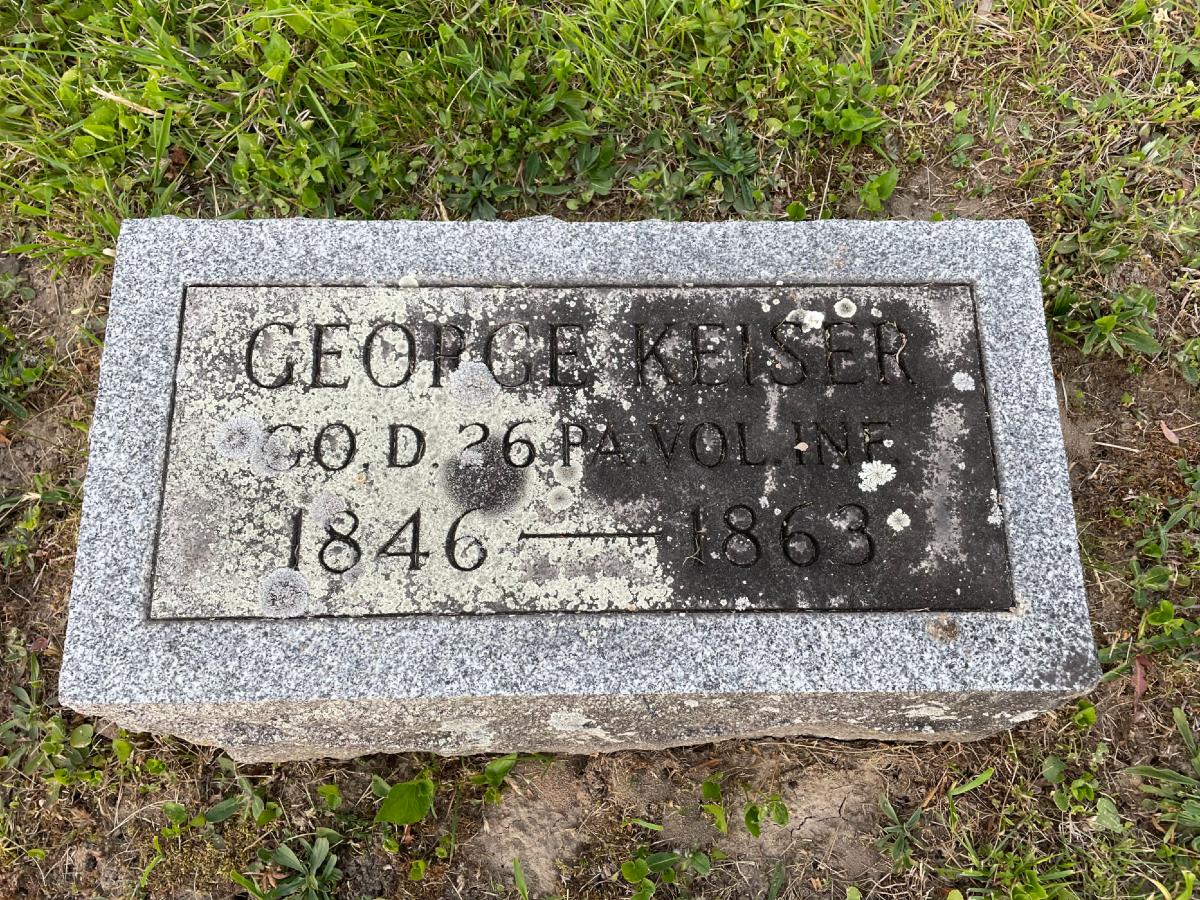 George Keiser Grave 2