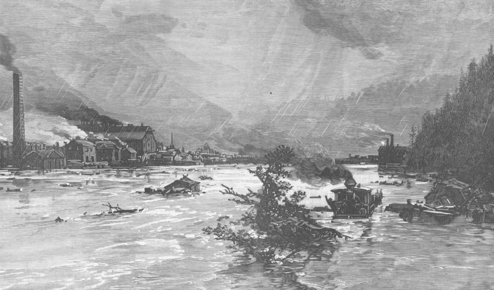 Johnstown Cambria Iron Works Flood