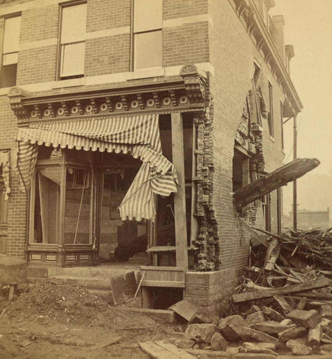 Johnstown Flood Damage
