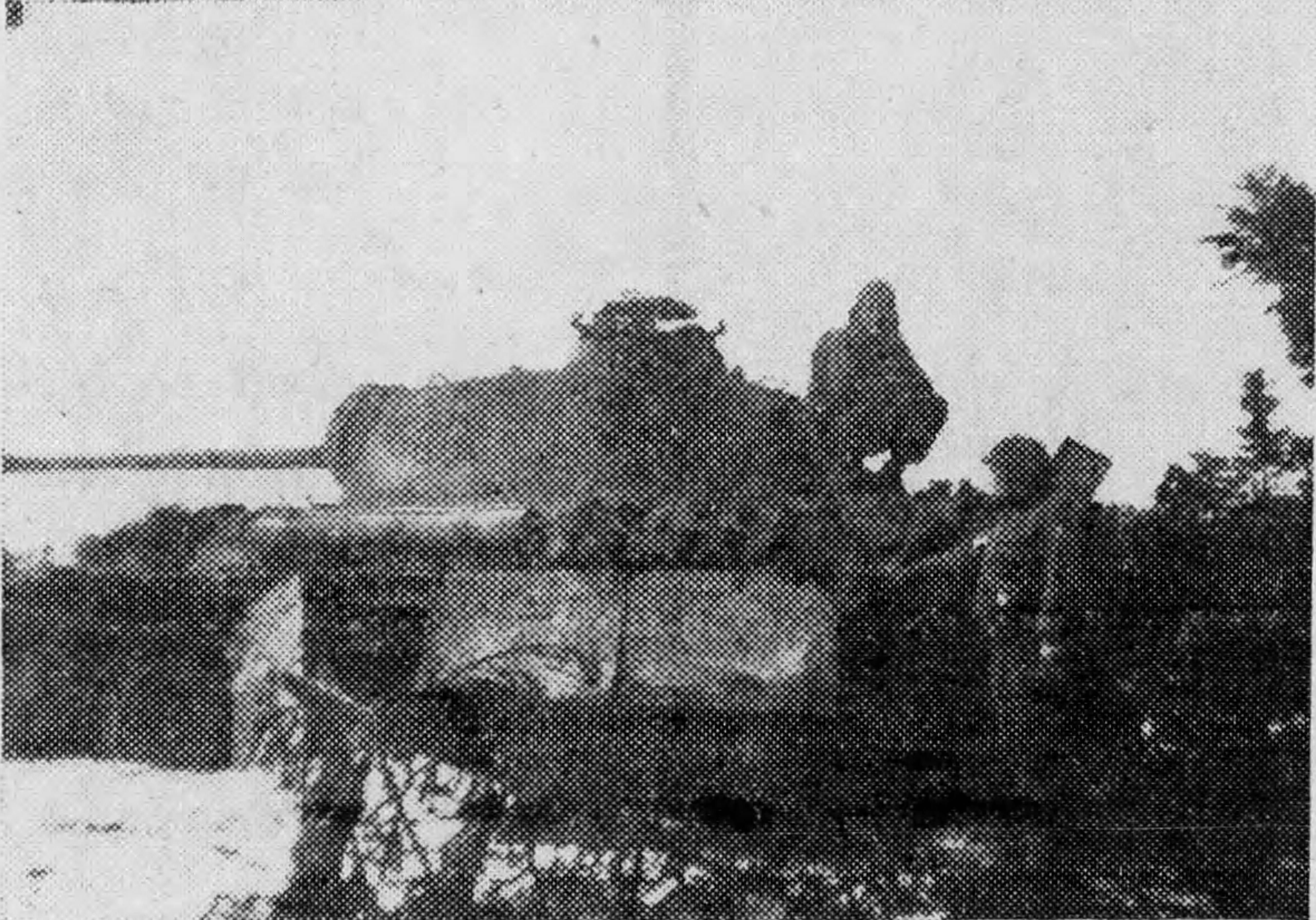 Schwartz Destroyed Tank