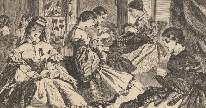 Women Volunteering Civil War